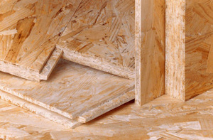 Фото: OSB-3 (oriented strand board)